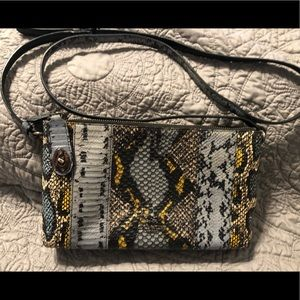 Coach Python Leather Crossbody Shoulder Bag